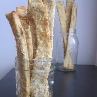 Rustic Rosemary-Parmesan Crackers.