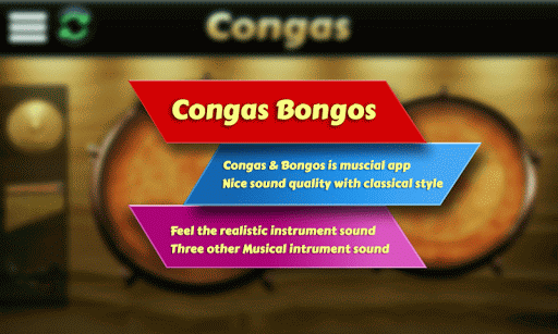 Garage Virtual Congas Bongos