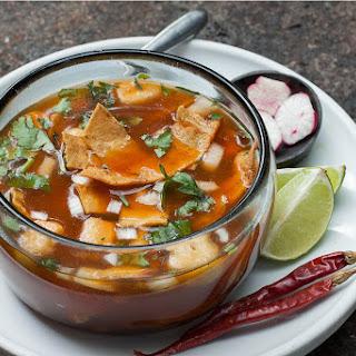 Pork Chile Colorado Pozole Recipe