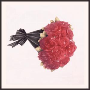 血色の薔薇<アクセサリー>