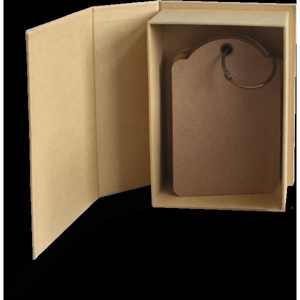 Regular Book Box-Kraft