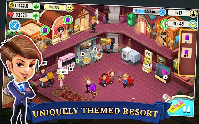 Resort Tycoon- screenshot
