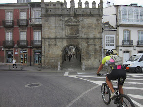 Photo: Saímos de Covas a carón da porta de Viveiro...