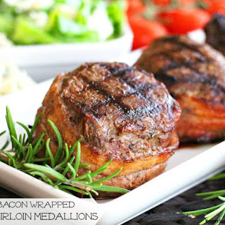 Bacon Wrapped Top Sirloin Medallions Recipe