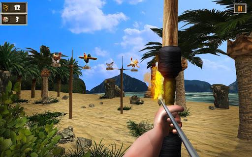 Télécharger Crazy Chicken Shooting Game : Archery Killing mod apk screenshots 2
