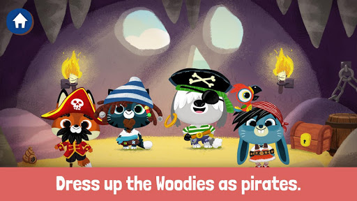 WoodieHoo Pirates - screenshot