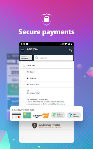 Amazon Shopping, UPI, Money Transfer, Bill Payment 20.18.0.300 Screenshots 7