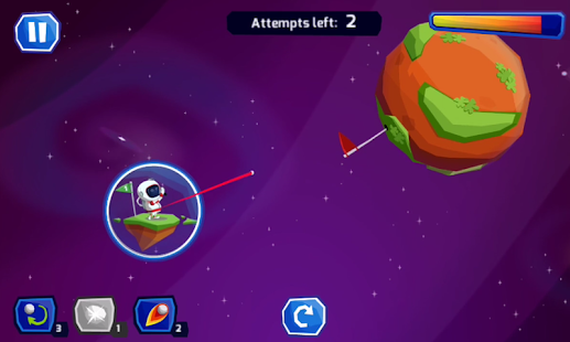Space Golf Galaxy- screenshot thumbnail