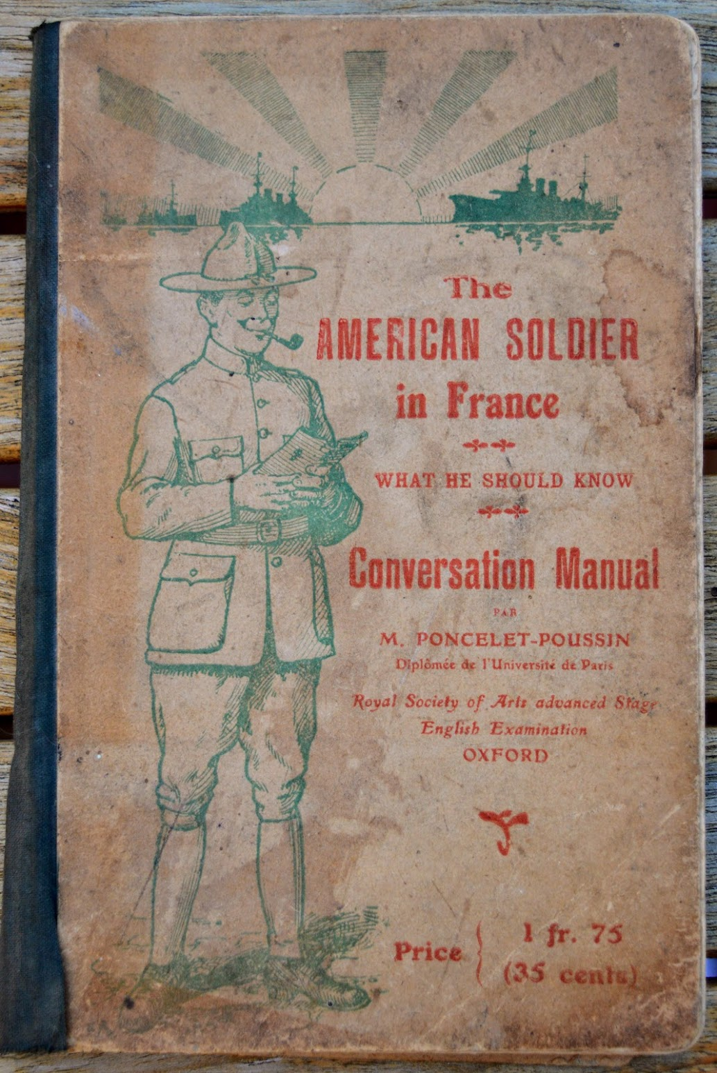 The American Soldier in France - Konversationsbuch - 1918