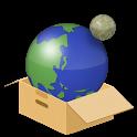 Planet simulation icon