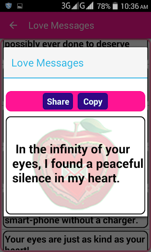 Super Love SMS 1.3 screenshots 3