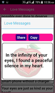 Super Love SMS - náhled