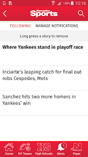 Newsday Sports- screenshot thumbnail