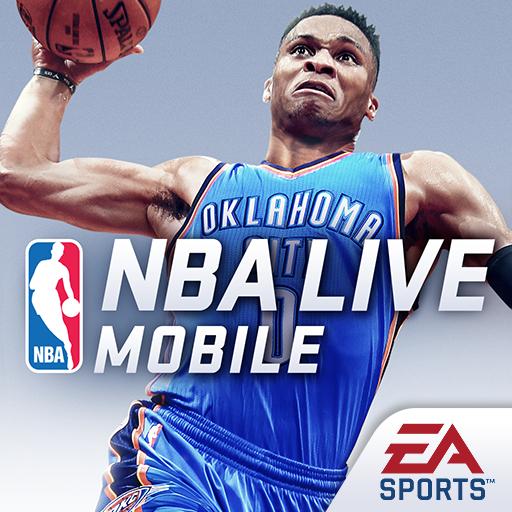 NBA LIVE Mobile バスケットボール 體育競技 App LOGO-硬是要APP