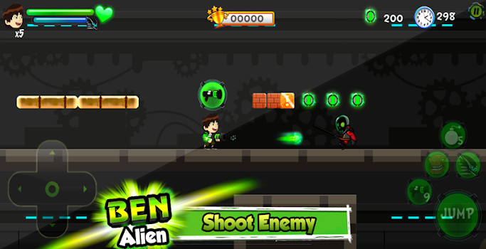 👽 Ben Super Ultimate Alien Transform