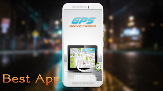 GPS Direction Route Finder Map Navigation App - náhled