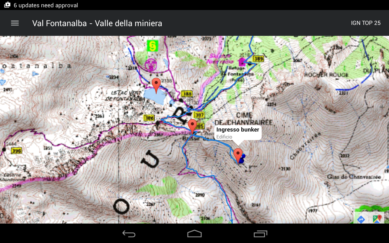 EasyTrails GPS- screenshot