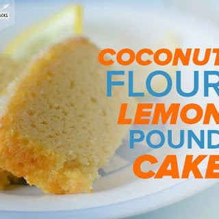 Coconut Flour Lemon Pound Cake.