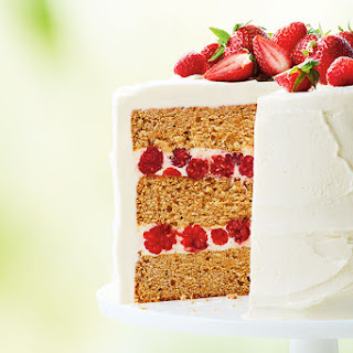 Canadian Maple Raspberry Cake Recipe