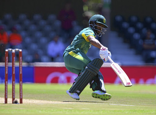 Fleet of foot: Temba Bavuma turns for a second run during his innings of 48 on Sunday. Bavuma opened with Quinton de Kock and the pair put on 119. Picture: RICHARD HUGGARD/GALLO IMAGES