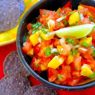 Spicy Mango Tomato Salsa