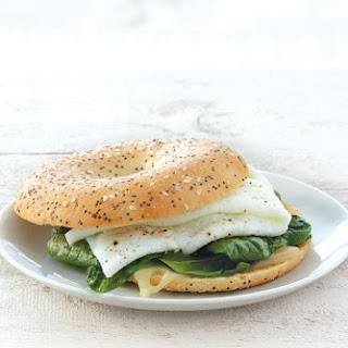 EGG WHITE & SPINACH SANDWICH