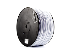 White PRO Series ABS Filament - 3.00mm (10lb)