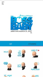 The Boss Baby Keyboard Screenshot