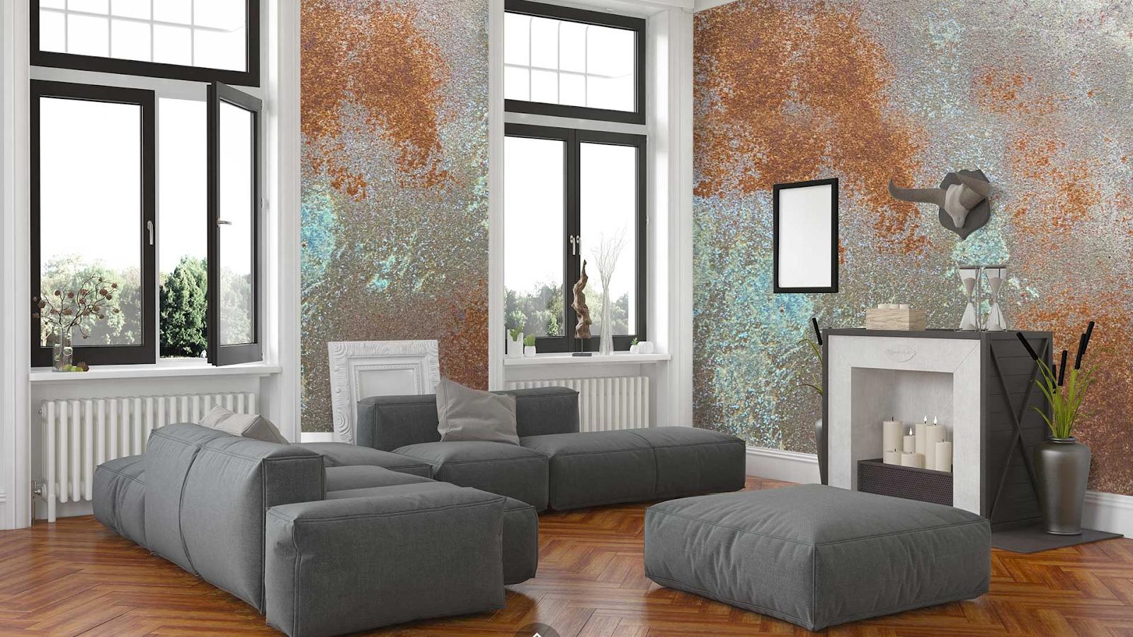 Mê mẩn với những không gian sử dụng sơn gỉ sét độc đáo, lôi cuốn