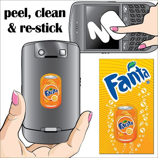 Screen Cleaner Sticker Packs