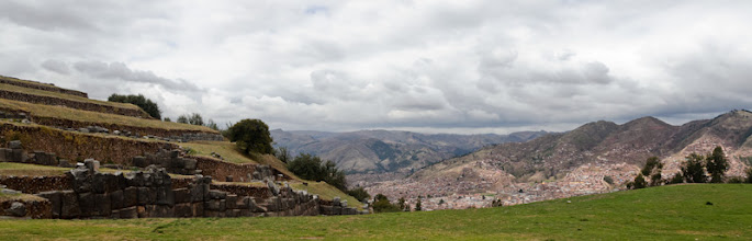 Photo: The view from Sacsayhuaman