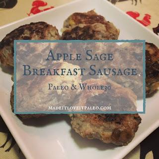 Apple Sage Sausage Patties