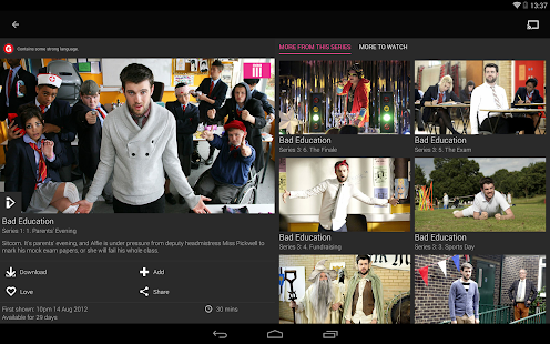 BBC iPlayer Screenshot 15