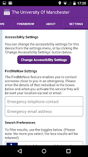 AccessAble - Uni Of Manchester – Apps bei Google Play