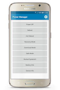 Power Manager Pro [Reboot] Screenshot