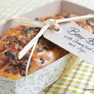 Beer Bread with Caramelized Onions and Sage