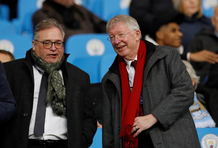 Former Manchester United manager Alex Ferguson (right). Picture: REUTERS/PHIL NOBLE