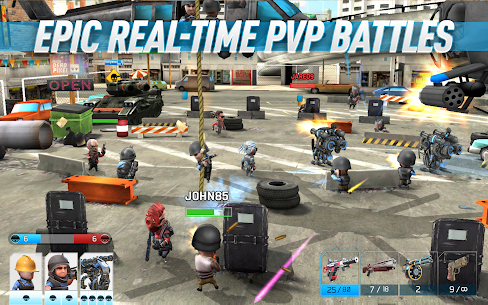 Download War Friends Android Friends Warfare action game + data 5