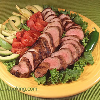 Grilled Pork Tenderloin Southwest