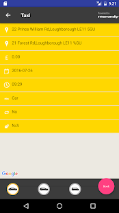 Yellow Cars Booking App- screenshot thumbnail
