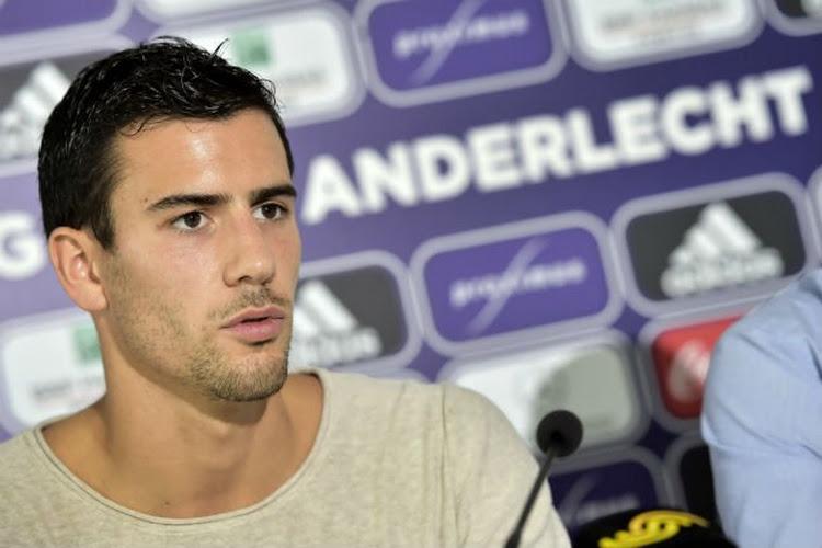 """Colin : """"Jouer à Anderlecht ne se refuse pas"""""""