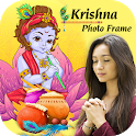 Happy Janmashtami Photo Frame - Krishna Photo Suit icon