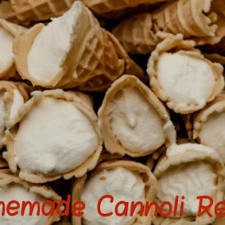 Holiday Recipe – Homemade Cannoli