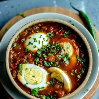 Spicy Tomato Egg Curry Recipe
