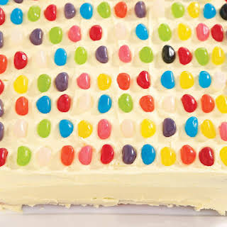 Jelly Bean Cake.