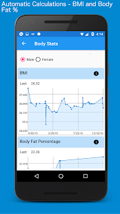 Body Measurement, Body Fat and Weight Loss Tracker- screenshot thumbnail