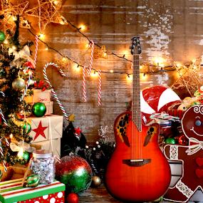 xmas wish by Anthony Balzarini - Public Holidays Christmas ( #guitar, #christmas, #christmaswish, #present, #xmas )