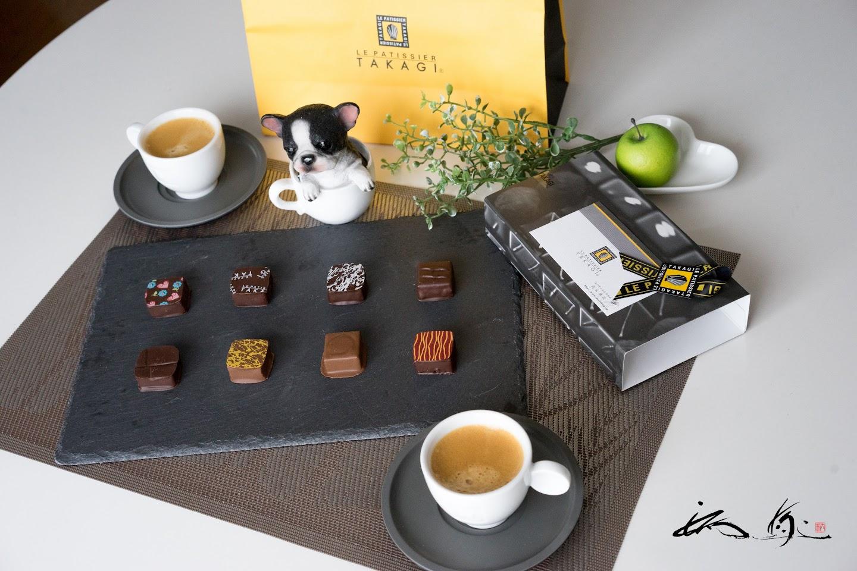 ル パティシエ タカギのチョコレート「ボンボンショコラ」