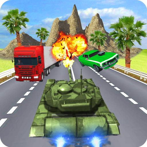 Tank Real Traffic Death Racer