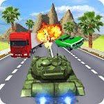 Tank Real Traffic Death Racer Icon